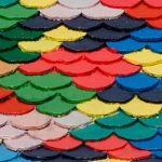 kolorowe dachówki